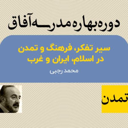 سیر تفکر، فرهنگ و تمدن در اسلام، ایران و غرب